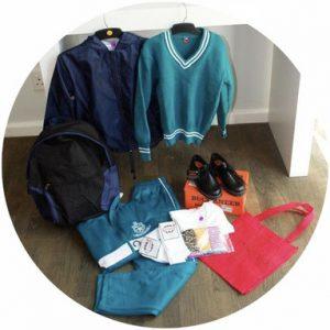 Ge ett skolpaket kläder