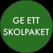 Ge ett skolpaket med Projekt Education