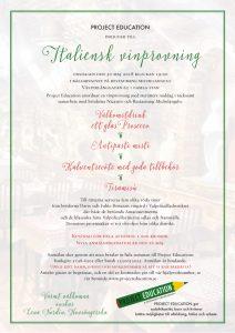 Inbjudan till Italiensk vinprovning